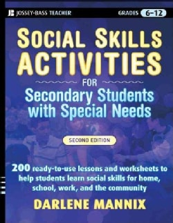 Social Skills Activities: For Secondary Students With Special Needs (Paperback)