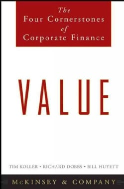 Value: The Four Cornerstones of Corporate Finance (Hardcover)
