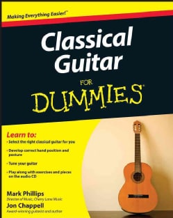 Classical Guitar for Dummies (Paperback)