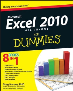 Excel 2010 All-in-One For Dummies (Paperback)