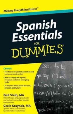 Spanish Essentials for Dummies (Paperback)