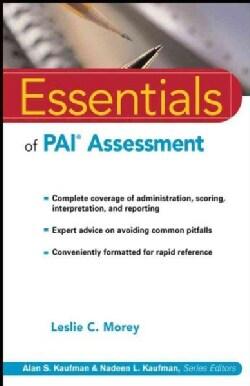 Essentials of Pai Assessment (Paperback)