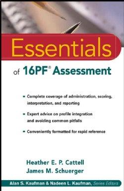 Essentials of 16Pf Assessment (Paperback)