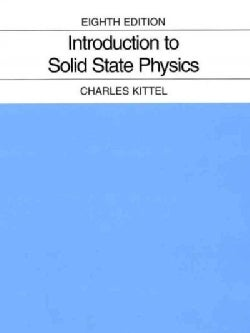 Introduction To Solid State Physics (Hardcover)