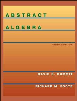 Abstract Algebra (Hardcover)