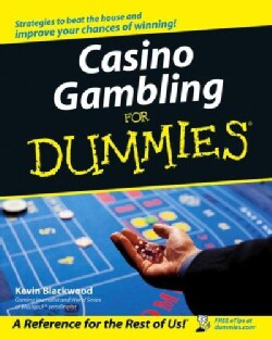 Casino Gambling for Dummies (Paperback)