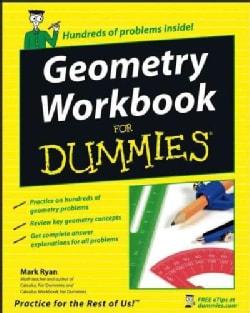 Geometry Workbook for Dummies (Paperback)