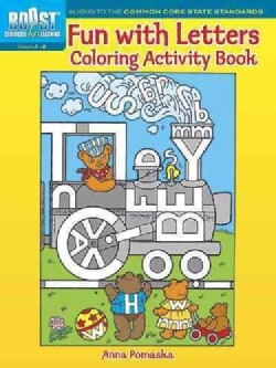 Fun With Letters Coloring Activity Book (Paperback)