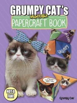 Grumpy Cat's Miserable Papercraft Book (Paperback)