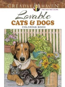 Lovable Cats & Dogs (Paperback)