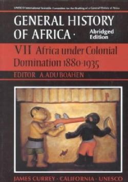 Africa Under Colonial Domination, 1880-1935 (Paperback)