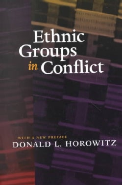 Ethnic Groups in Conflict (Paperback)