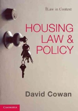 Housing Law and Policy (Paperback)