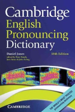 Cambridge English Pronouncing Dictionary (Paperback)
