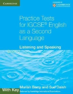 Practice Tests for IGCSE English As a Second Language: Listening and Speaking Book 2 (Paperback)