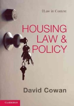 Housing Law and Policy (Hardcover)