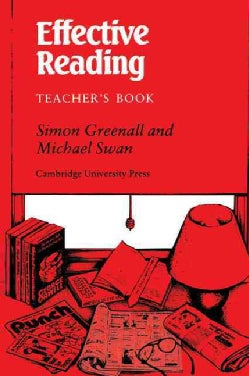 Effective Reading: Teacher's Book (Paperback)