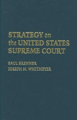 Strategy on the United States Supreme Court (Hardcover)