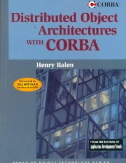 Distributed Object Architectures With Corba (Paperback)