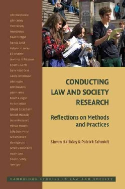 Conducting Law and Society Research: Reflections on Methods and Practices (Paperback)