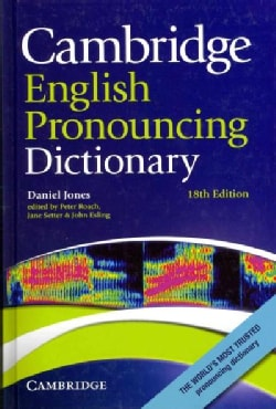 Cambridge English Pronouncing Dictionary (Hardcover)