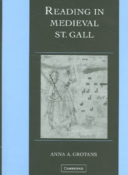 Reading in Medieval St. Gall (Hardcover)