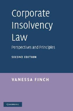 Corporate Insolvency Law: Perspectives and Principles (Hardcover)