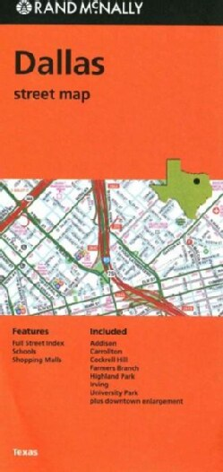 Rand McNally Dallas Street Map (Sheet map, folded)