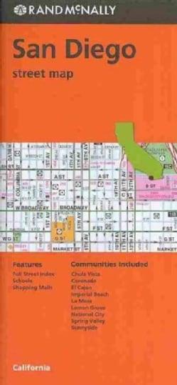 Rand McNally San Diego Street Map (Sheet map, folded)