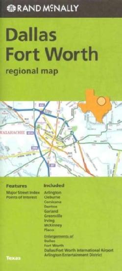 Rand McNally Dallas Fort Worth, Tx Map (Sheet map, folded)