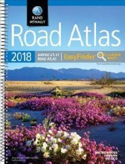 Rand McNally 2018 Easyfinder Road Atlas: United States / Canada / Mexico (Paperback)