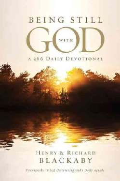 Being Still With God Every Day: A 366 Daily Devotional (Hardcover)