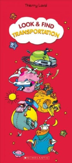 Look & Find Transportation (Hardcover)