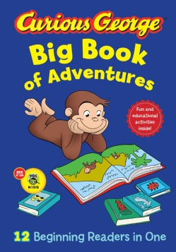 Curious George Big Book of Adventures (Hardcover)