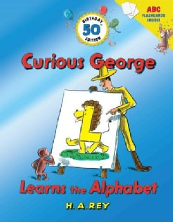Curious George Learns the Alphabet (Hardcover)