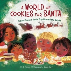 A World of Cookies for Santa: Follow Santa's Tasty Trip Around the World (Hardcover)