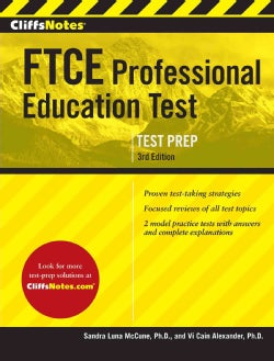 CliffsNotes FTCE Professional Education Test (Paperback)