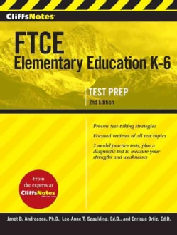 CliffsNotes FTCE Elementary Education, K-6 (Paperback)
