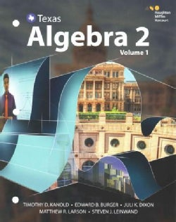 Texas Algebra 2 (Paperback)