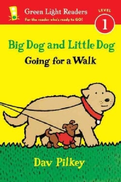 Big Dog and Little Dog Going for a Walk (Paperback)