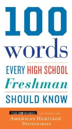 100 Words Every High School Freshman Should Know (Paperback)
