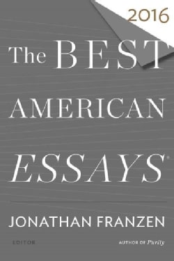 The Best American Essays 2016 (Paperback)