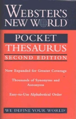 Webster's New World Pocket Thesaurus (Paperback)