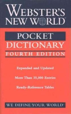 Webster's New World Pocket Dictionary (Paperback)