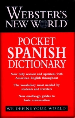 Webster's New World Pocket Spanish Dictionary (Paperback)