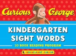 Curious George Sight Words PreK-1: 10 Book Reading Program