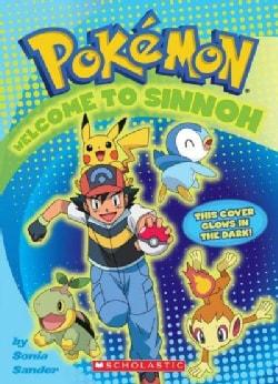 Pokemon Welcome to Sinnoh Activity Book: Glow-in-the-dark (Paperback)