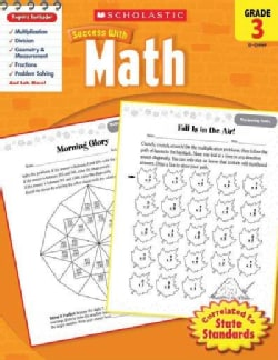 Scholastic Success With Math, Grade 3 (Paperback)
