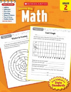Scholastic Success With Math, Grade 2 (Paperback)