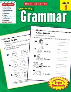 Scholastic Success With Grammar, Grade 1 (Paperback)